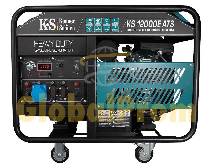 Бензиновый генератор Könner & Söhnen KS 12000E ATS