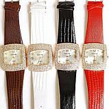 Жіночі годинники GoGoey,стрази Сваровскі,чорний ремінець, фото 3