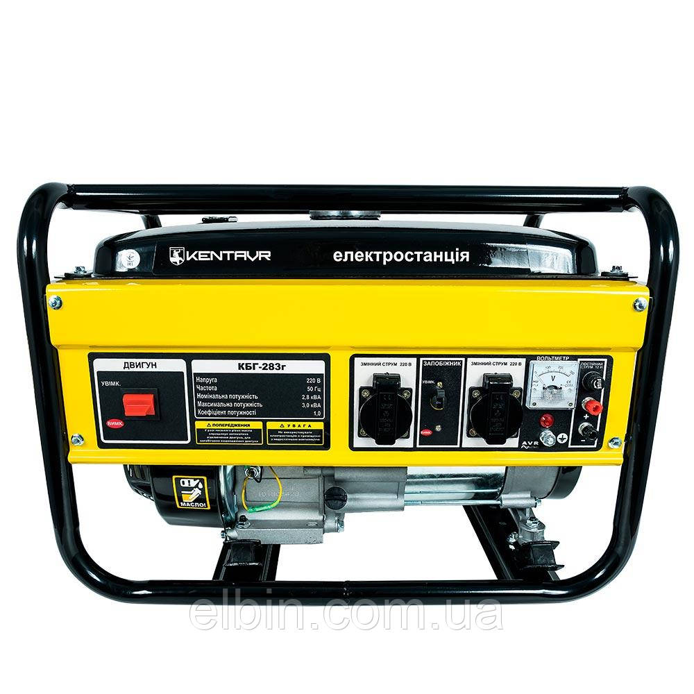 Генератор газ/бензин Кентавр КБГ283г