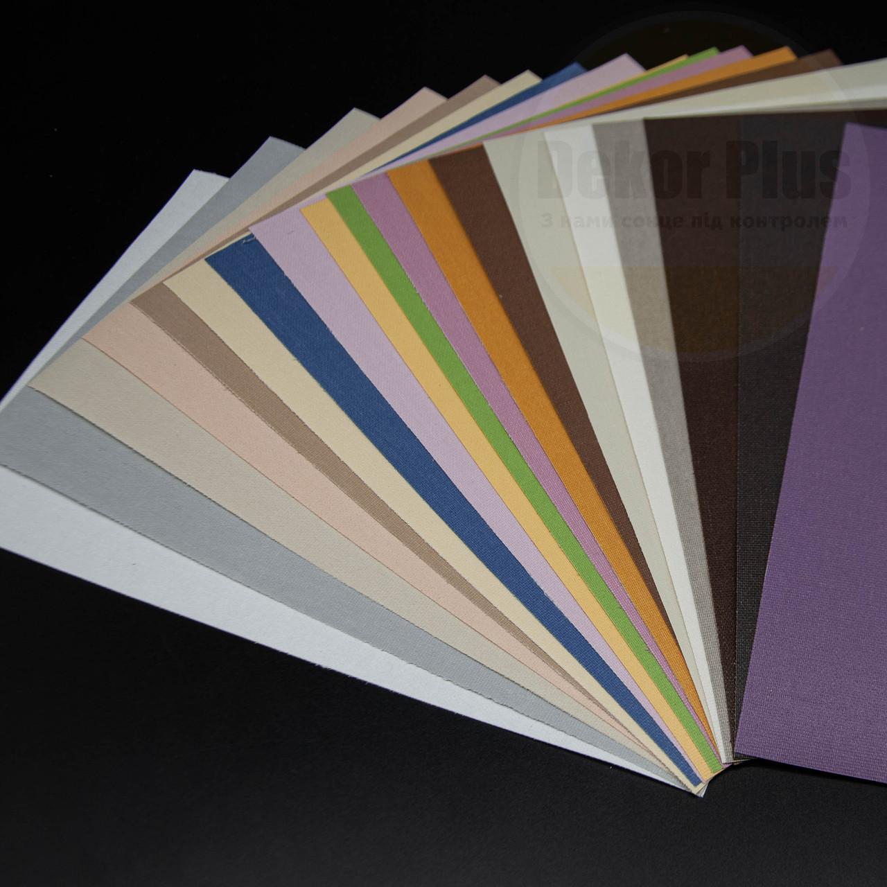 Рулонні штори А 600 (19 варіантів кольору)