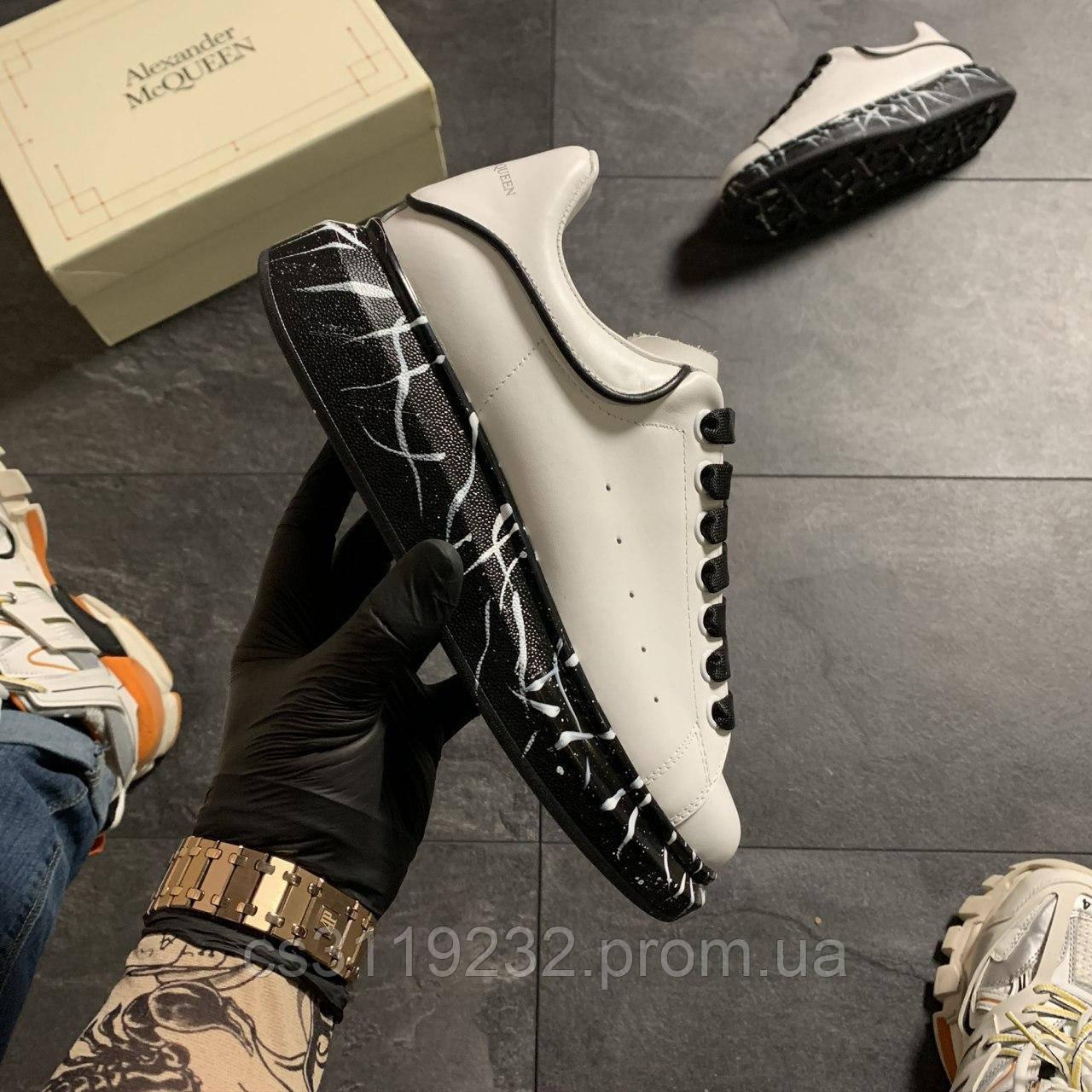 Жіночі кросівки White Black (біло-чорні)