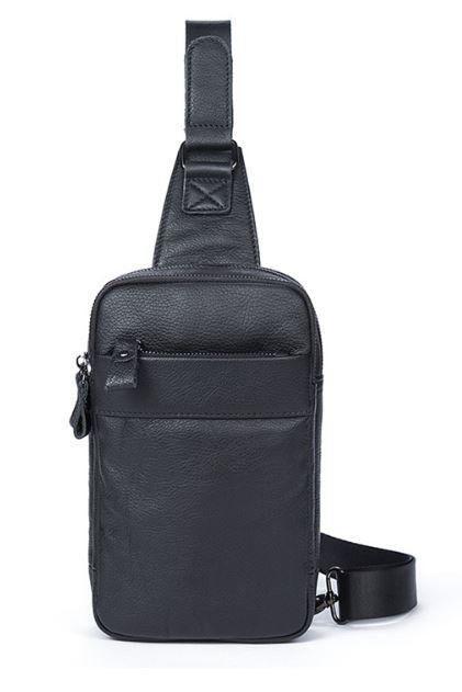 Сумка через плечо мужская Vintage 14772 Черная, Черный