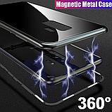 Магнитный чехол со стеклянной задней панелью для Samsung Galaxy S10 Plus, фото 2