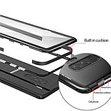 Магнитный чехол со стеклянной задней панелью для Samsung Galaxy S10 Plus, фото 5