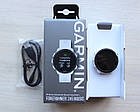 Смарт-годинник Garmin Forerunner 245 Music White Чорні з Білим Ремінцем, фото 7