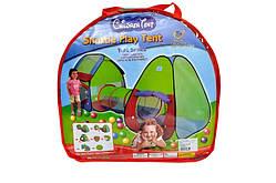 Детская игровая палатка - тоннель. 2 в 1 A999-143. Размер 230 х 78 х 91 см.
