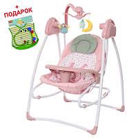 Детское кресло-качалка  Carrello Grazia CRL-7502 Bow Pink