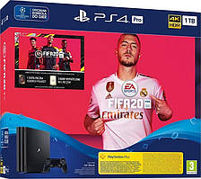 Sony Playstation 4 Pro 1TB (Black) + FIFA 20