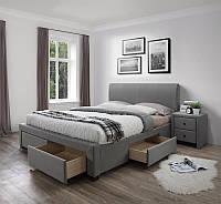 Кровать MODENA 140 серый Halmar, фото 1