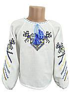 Вышитая блуза для девочки с длинным рукавом Дерево жизни, фото 1