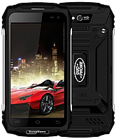 "Land Rover X2 Max (Guophone X2) black IP67, 2/16 Gb, 5"", MT6737, 5500 мАч, 3G, 4G"