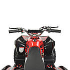 Электрический квадроцикл Profi HB-EATV1000Q-3ST(MP3) V2 красный, фото 3
