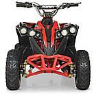 Электрический квадроцикл Profi HB-EATV1000Q-3ST(MP3) V2 красный, фото 5
