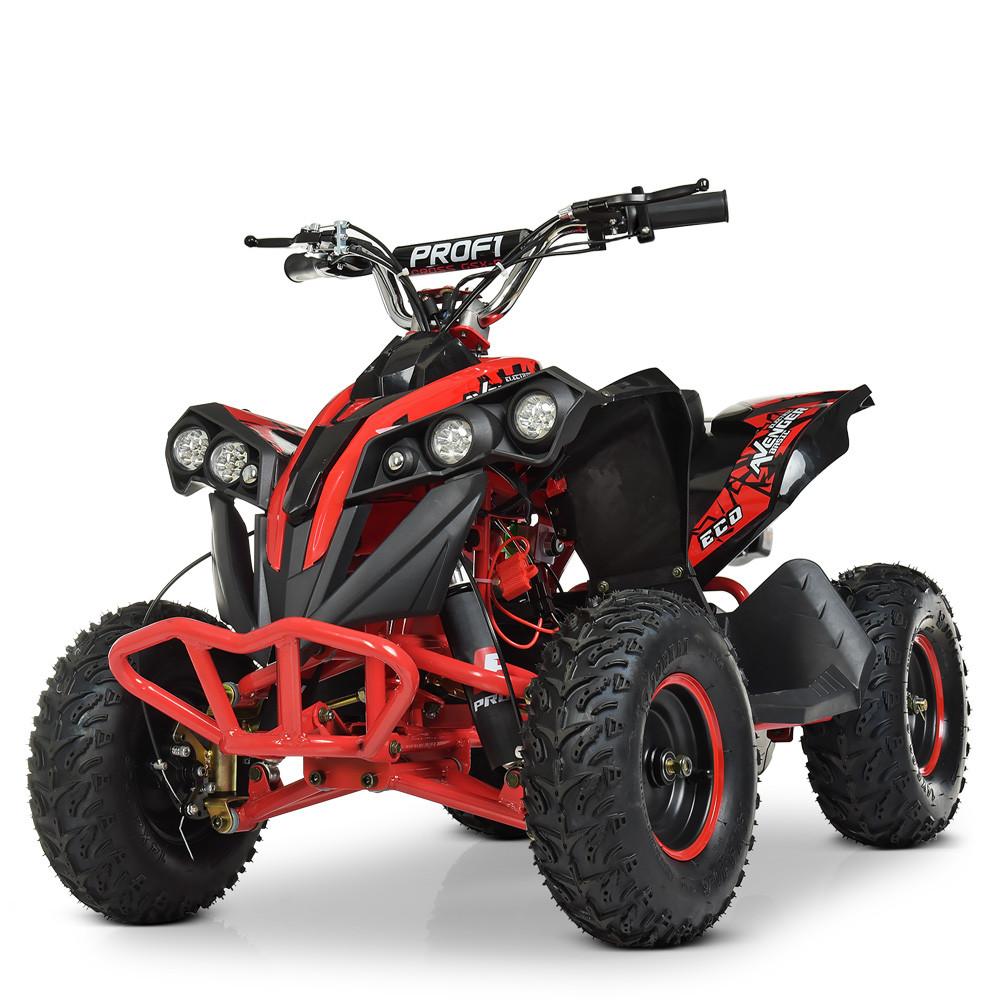 Электрический квадроцикл Profi HB-EATV1000Q-3ST(MP3) V2 красный