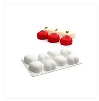 Форма для евродесертов Аморини сердечки Форма для выпечки силикон AMORINI