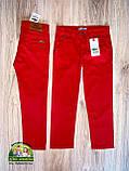 Яркий нарядный комплект Armani для мальчика: белая рубашка и красные брюки, фото 3