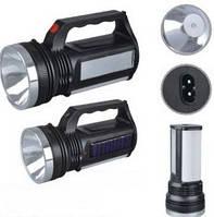 Переносной фонарь ASK 2836T ( 1W+16SMD LED + Солнечная батарея ) ручной аккумуляторный ТМ АСК