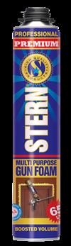 Пена монтажная профессиональная STERN PREMIUM 850 мл, 65 л