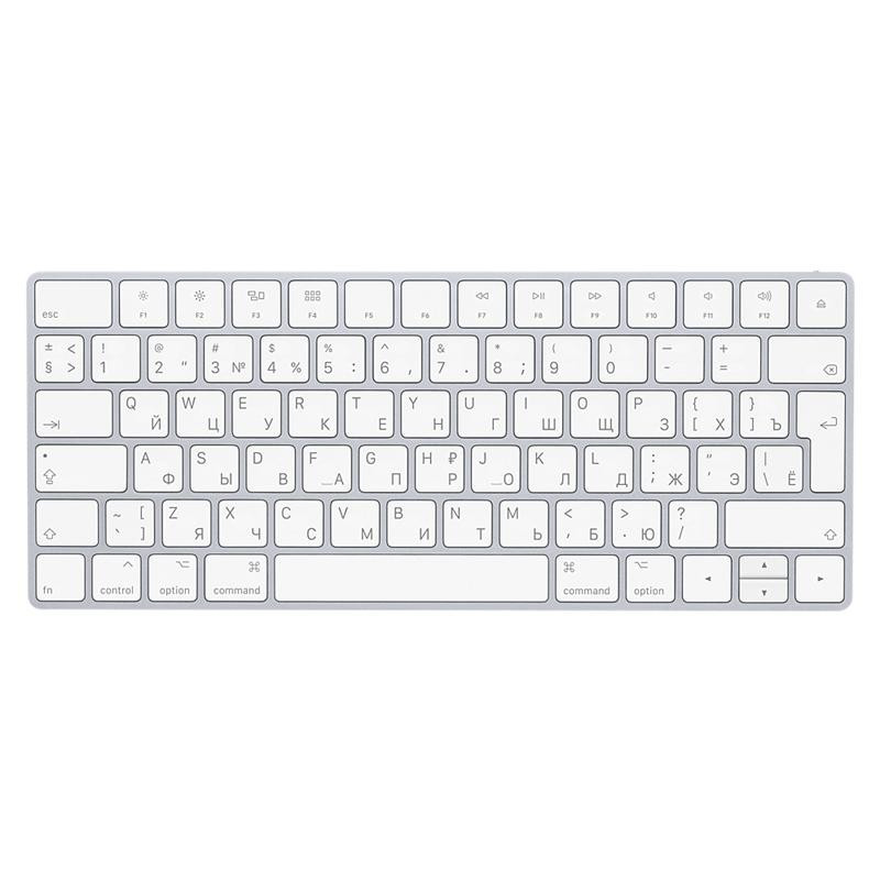 Клавиатура Apple A1644 Magic Keyboard Bluetooth (MLA22RU/A) Silver/White