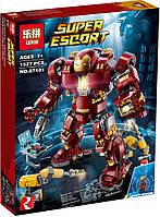 "Конструктор Lepin 07101 ""Халкбастер: эра Альтрона"" (аналог Lego Super Heroes 76105), 1527 дет, фото 1"