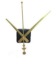 Настенный часовой механизм без ушка цвет золото стрелки 16*12*19см