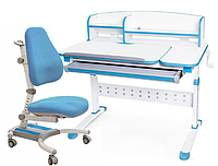 Комплект Evo-kids кресло Omega (арт.Y-220) KBL+парта Martin