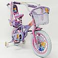 """Дитячий Велосипед 14"""" ICE FROZEN(Крижане серце, Єльза), фото 3"""