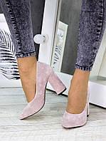 Туфли лодочки,замшевые балетки,женские замшевые туфли на каблуке,красные туфли,женские туфли на каблуке пудра