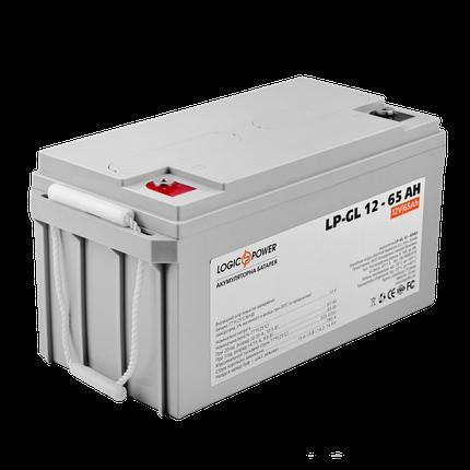 Аккумулятор гелевый LP-GL 12 - 65 AH, фото 2