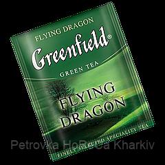 "Чай зеленый в пакетиках  Greenfield ""Flying Dragon"" 100шт"