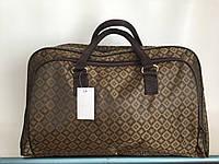 Средняя дорожная женская сумка-саквояж легкая вместительная для поездок