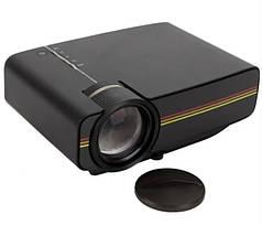 Проектор мультимедийный с динамиком Led Projector LEJIADA YG400 Black