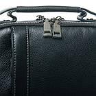 Мужская кожаная сумка планшет BRETTON черного цвета, фото 3