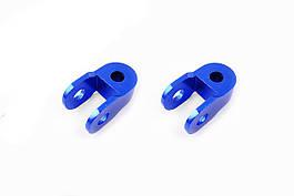 Удлинитель амортизатора (пара) 3см, Ø10мм (синий) RIDE