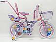 """Детский Велосипед 16"""" ICE FROZEN(Холодное Сердце, Ельза), фото 5"""