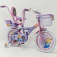 """Детский Велосипед 16"""" ICE FROZEN(Холодное Сердце, Ельза), фото 4"""