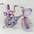 """Дитячий Велосипед 16"""" ICE FROZEN(Холодне Серце, Єльза), фото 4"""