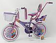 """Детский Велосипед 16"""" ICE FROZEN(Холодное Сердце, Ельза), фото 6"""