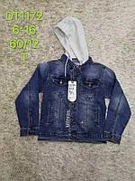 Джинсовая куртка для мальчиков оптом, S&D, 6-16 лет,  № DT-1172
