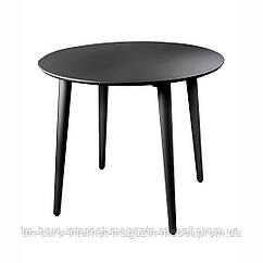 Стол Dan (Ден) d90 черный