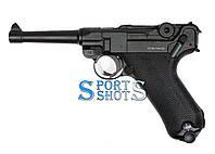 Пневматичний пістолет KWC Luger Parabellum P08 Blowback, фото 1