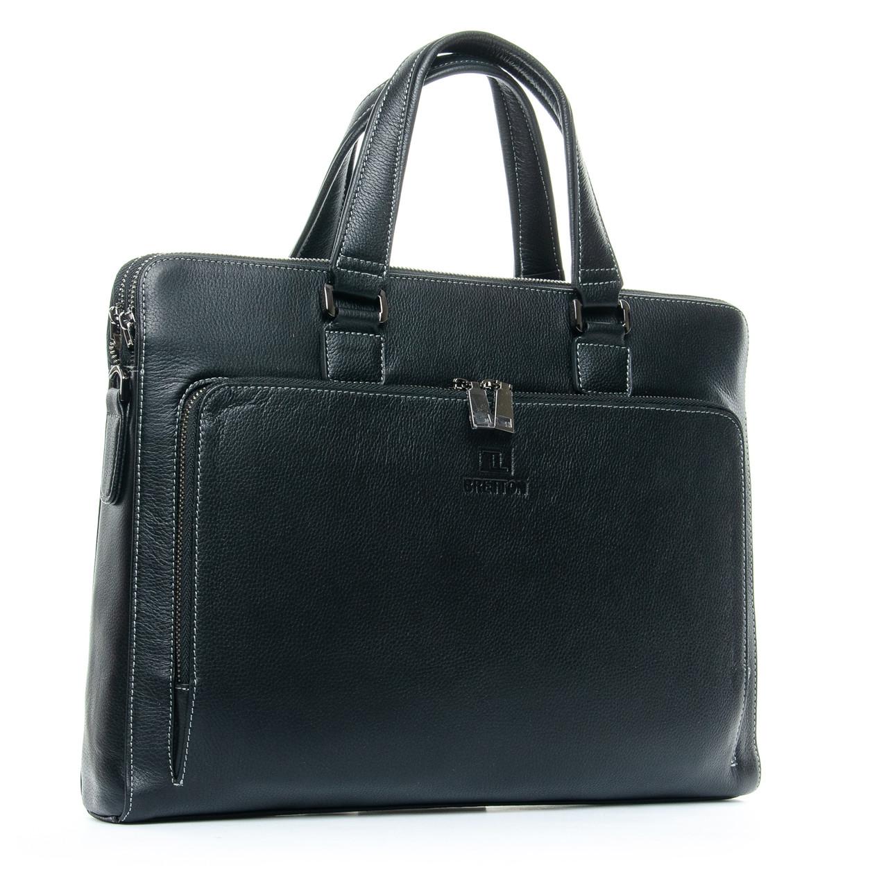Кожаный сумка-портфель BRETTON