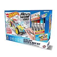 Игровой набор дизайн и гонки HOT WHEELS MAKER KITZ - DIY DESIGN & RACE KIT