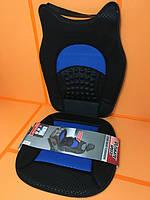 """Підкладка м'яка на автомобільне сидіння з подушкою для спини B """"UltimateSpeed"""" 6137."""
