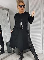Женское платье-туника норма и баталНовинка 2020