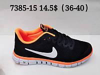 Кроссовки подросток Nike Free 3.0 оптом (36-41)