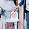 Рамка серце для пісочної церемонії ♥