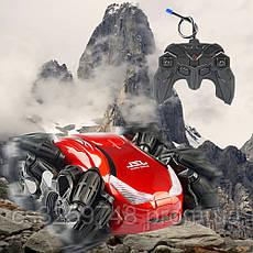 Машинка-перевертыш Drift Stunt NEW 2020 на радиоуправление Red, фото 2