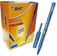 Ручка BiC шарик Round Stic 6378 син