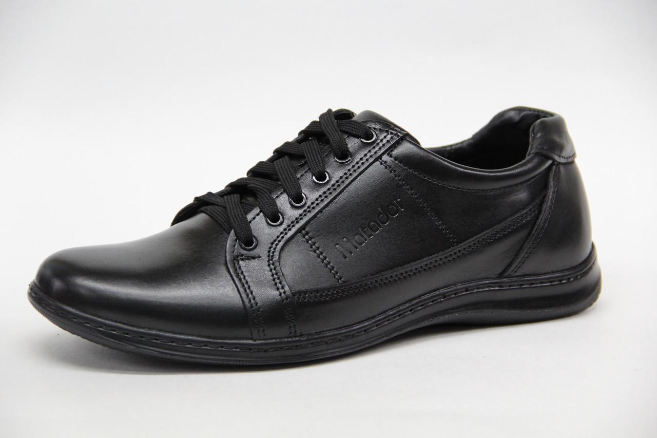 Мужские кожаные туфли Matador 5730 Ч